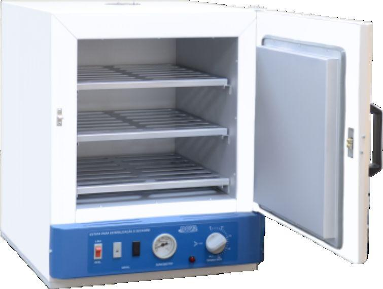 Estufa de esterilização laboratorio
