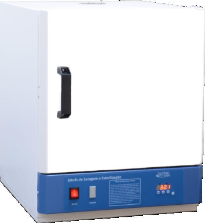 Estufa de esterilização e secagem digital